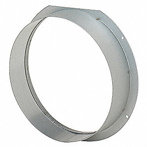 EXHAUST AIR FLANGE,10 IN DUCT