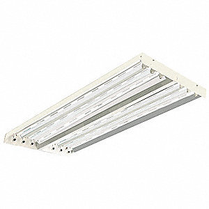 220W Fluorescent High Bay Fixture, 120 to 277VAC Voltage, Suggested Lamp Item No. 3VK30