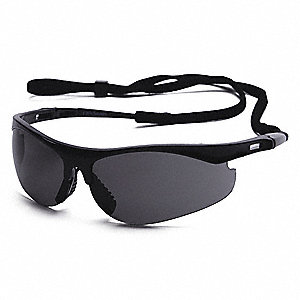 Thecla™ Anti-Fog Safety Glasses, Smoke Lens Color