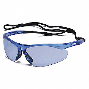 Thecla™ Scratch-Resistant Safety Glasses, Light Blue Lens Color
