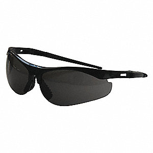 Thecla™ Scratch-Resistant Safety Glasses, Smoke Lens Color