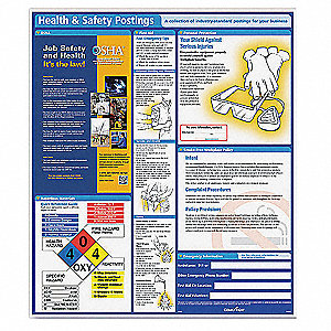 Health and Safety Poster,English