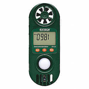 Anemometer with Humidity,80 to 3937 fpm