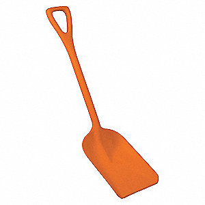 11IN 1-PIECE HYGIENIC SHOVEL, OR