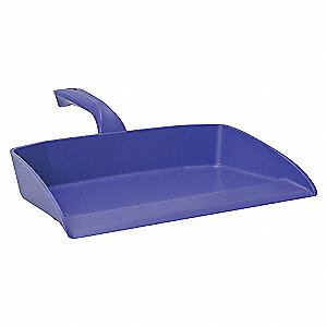 12IN DUST PAN, PURPLE