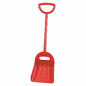 14IN DUAL GRIP SHOVEL, RED