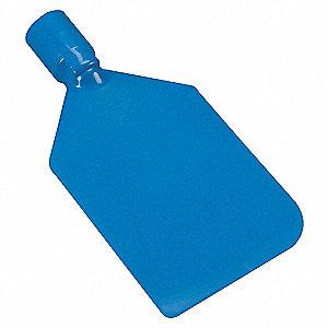 PADDLE SCRAPER, STIFF, BLUE