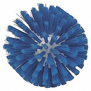 TURKS HEAD BRUSH, SOFT, BLUE