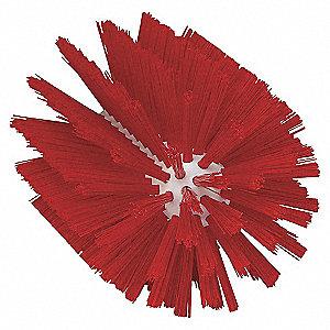 4IN TUBE BRUSH, STIFF, RED