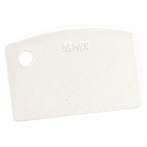MINI BENCH SCRAPER, WHITE