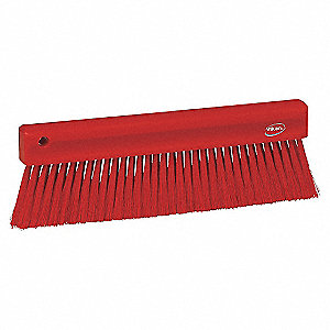 11IN BAKERS BRUSH, SOFT, RED