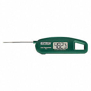 "4-19/32"" LCD Digital Food Service Thermometer with -40° to 482° Temp. Range (F)"