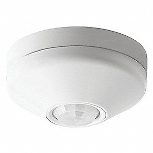Ceiling Wireless RF, 900.0 MHz Wireless Occupancy Sensor, 450 sq. ft. Microphonic, Passive Infrared