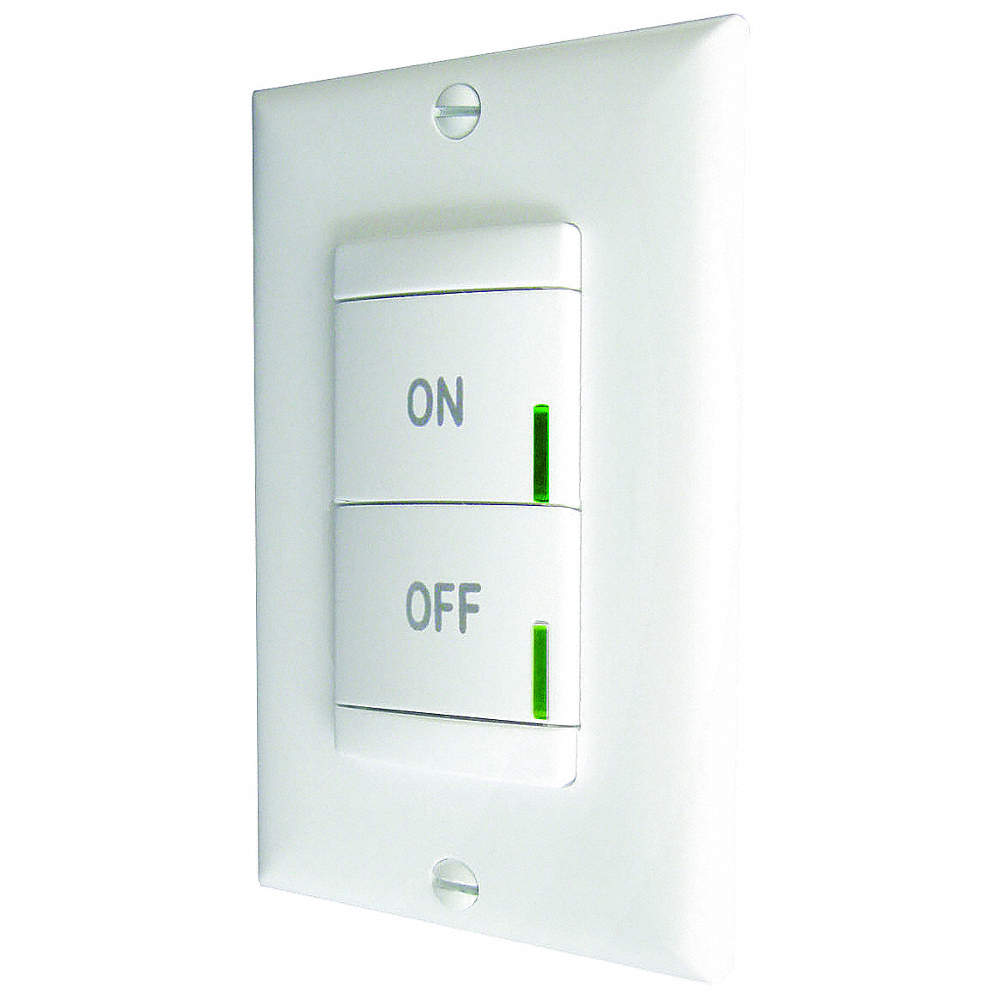 LITHONIA LIGHTING Wireless Wall Switch, CFL, Incandescent, LED Light ...