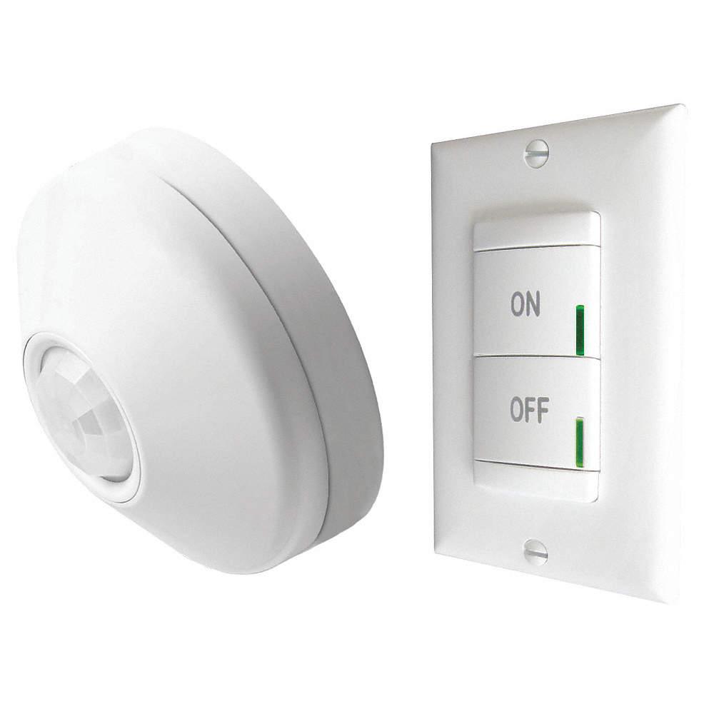 LITHONIA LIGHTING Wall Switch Box Wireless RF Wireless Occupancy ...