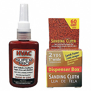 HVAC Solderless Bonding Kit,1.85 oz.