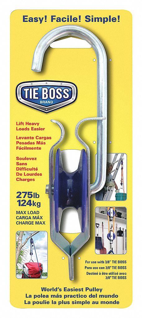 """3//8/"""" Tie Down Blue Body Tie Boss"""