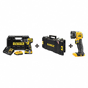 20V MAX™ Cordless Combination Kit, 20.0 Voltage, Number of Tools 2