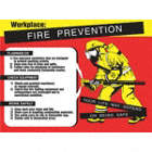 Workplace: Fire Prevention, Your Life May Depend On Being Safe Posters