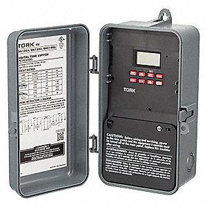 ELECTRONIC TIMER,PROG,DPDT,120/277V