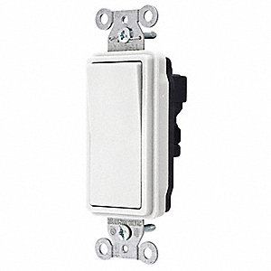 Wall Switch, Switch Type: 1-Pole, Switch Function: Maintained, Style: Style Line®