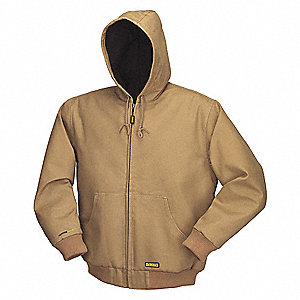 Heated Jacket,Men,S,Khaki