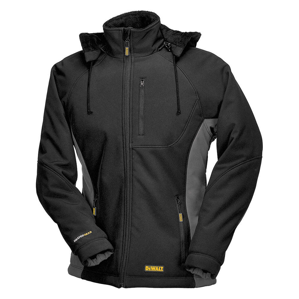 Womens Heated Clothing >> Women S Black Heated Jacket Size S Battery Included Yes