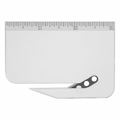 31AD25 - Letter Opener Disposable 3 in. White