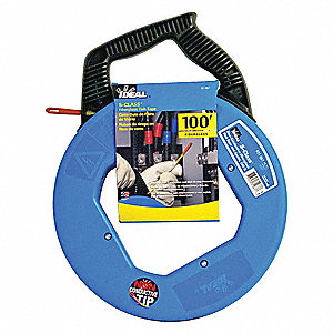 Ideal fish tape 3 16 in x 100 ft fiberglass 31ad40 31 for Ideal fiberglass fish tape