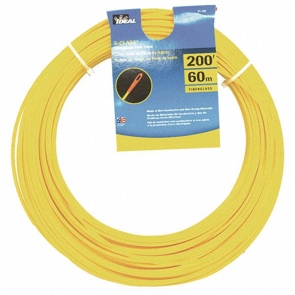 Ideal 200 ft fiberglass fish tape 31ad44 31 202 grainger for Ideal fiberglass fish tape