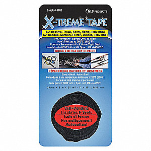 TAPE - BLACK, AUTOMOTIVE 3M ROLL