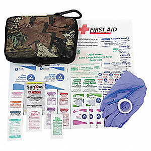 First Aid Kit,Portable,Camouflage,Fabric