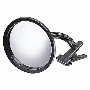 Circular Indoor Convex Mirror, 160° Viewing Angle, 12 ft. Approx. Viewing Distance