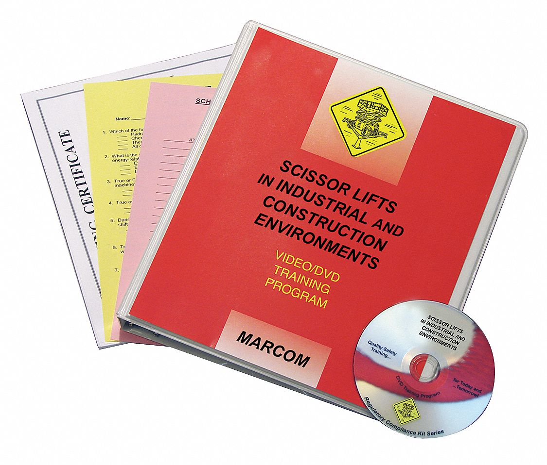 Training DVD,  DVD,  Scissor Lifts,  English,  13 min