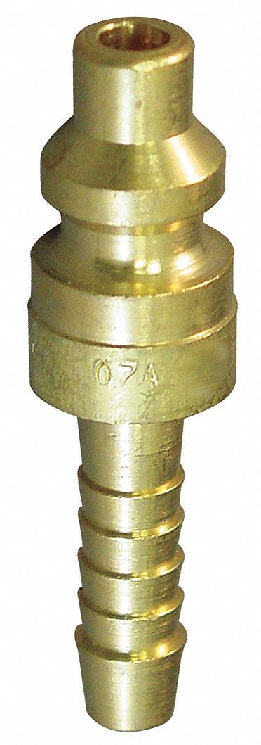 EATON HANSEN Coupler Body, M NPT,1//4,Brass GR603