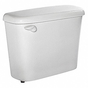 Colony® 1.6 gpf Toilet Tank, Left Hand Trip Lever, White