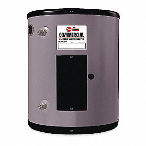 Commercial Electric Water Heater, 15.0 gal. Tank Capacity, 120V, 2000 Total Watts