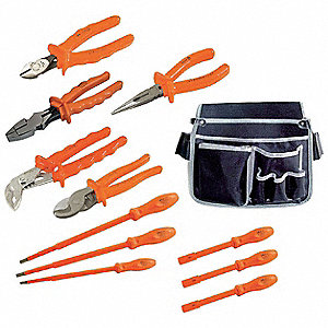 Insulated Tool Set, Number of Pieces: 13
