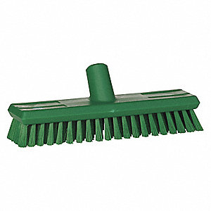 "Synthetic Deck Scrub Head, 11"" Sweep Face"