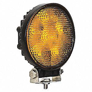 LIGHT STROBE 12-24 VDC HD AMBER LED