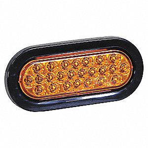 LIGHT STROBE 6-1/2IN OV RCSD LED AM