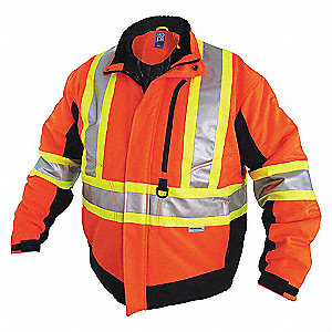 HIVIS WINTER JACKET CL2LVL2 OR 3XL