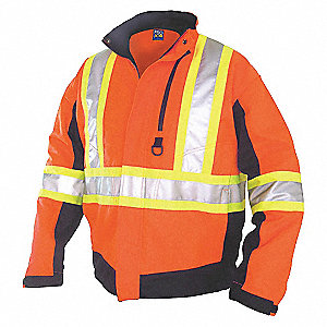 HIVIS SPR/SUM JACKET CL2LVL2 OR 3XL
