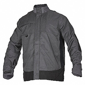SPRING SUMMER MENS JKT GREY BLK S