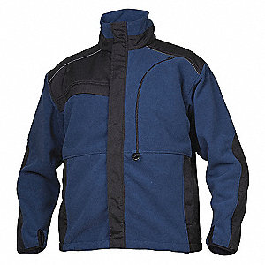 ADVANCED FLEECE MENS JKT NAVY 2XL
