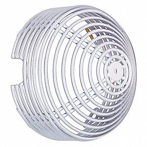 Photoelectric Smoke Detector Cover,White
