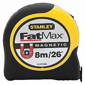 TAPE FATMAX MAGNETIC 26FT/8M