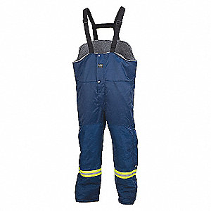 THOMPSON BIB PANT NAVY 3XL