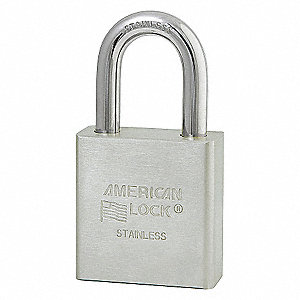 1-3/4IN SS PADLOCK 2IN SHCKLE 6-PIN