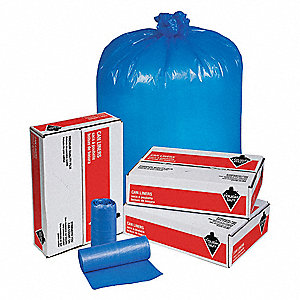 Hospital Islation Bag,33gal,Blue,PK250